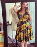 Raquel dress in Tropical print