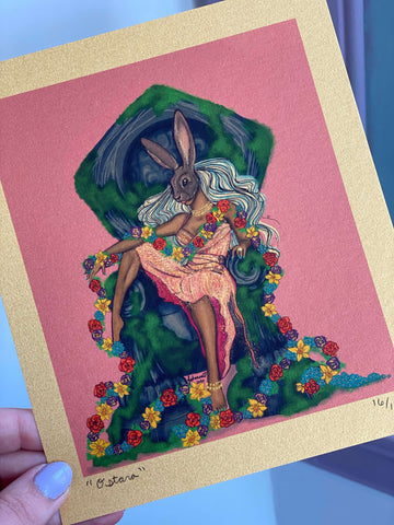 """Ostara"" print to benefit the ACLU"