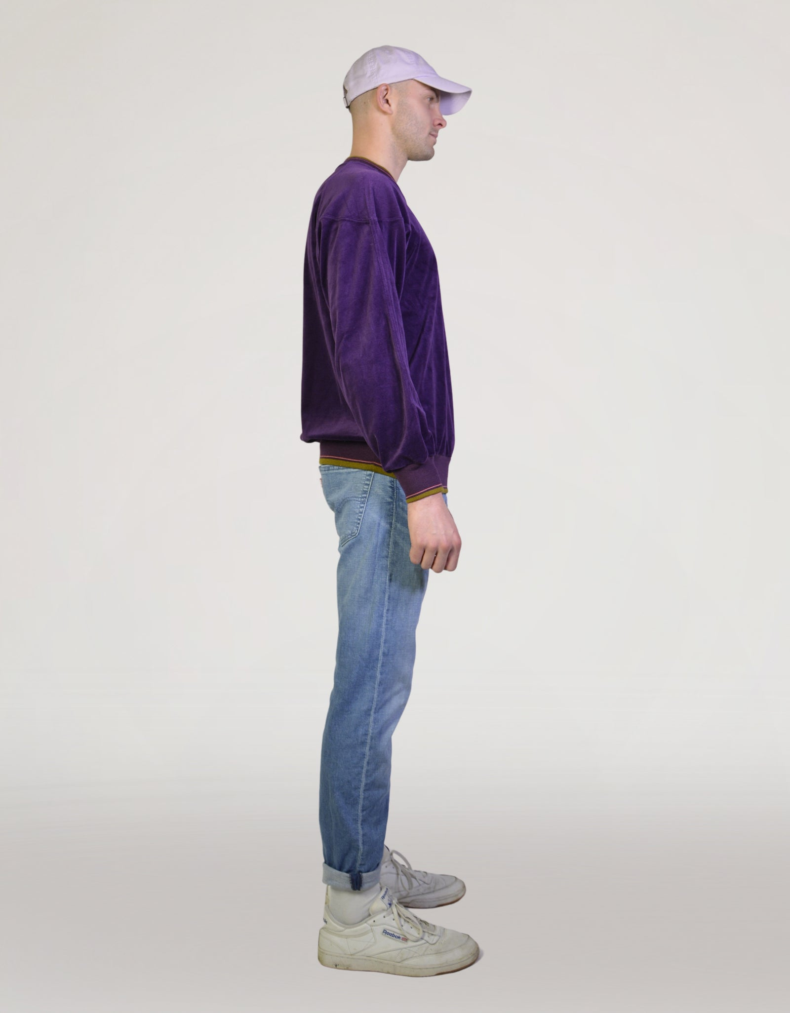 Purple sweater - PICKNWEIGHT - VINTAGE KILO STORE
