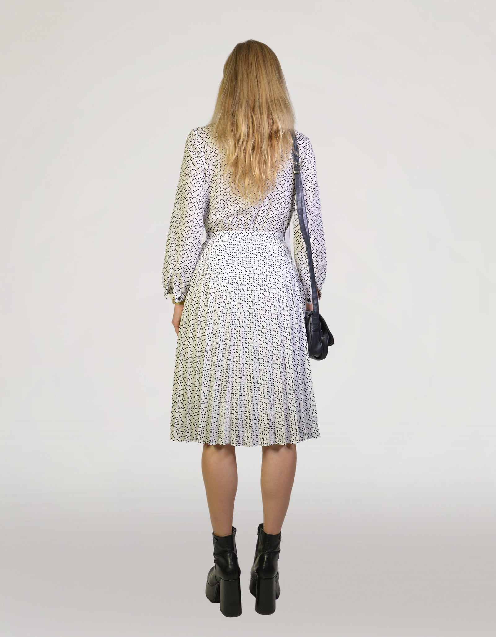 Dotted dress - PICKNWEIGHT - VINTAGE KILO STORE