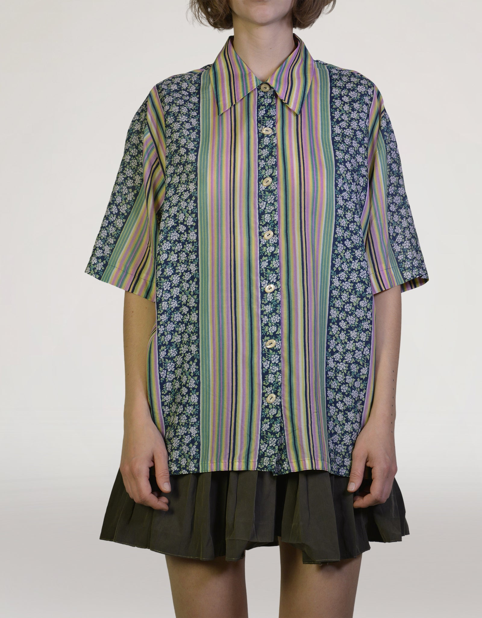 70s silk blouse - PICKNWEIGHT - VINTAGE KILO STORE