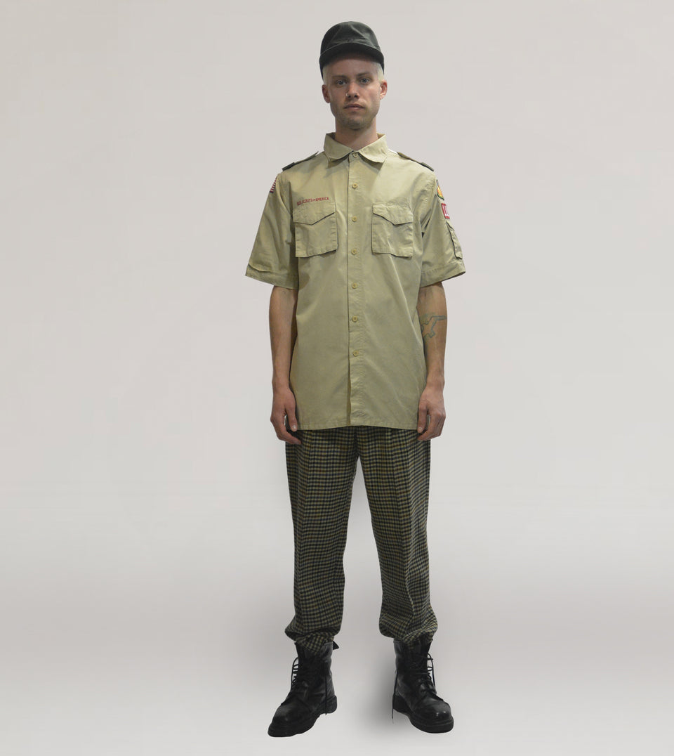Scouts uniform shirt