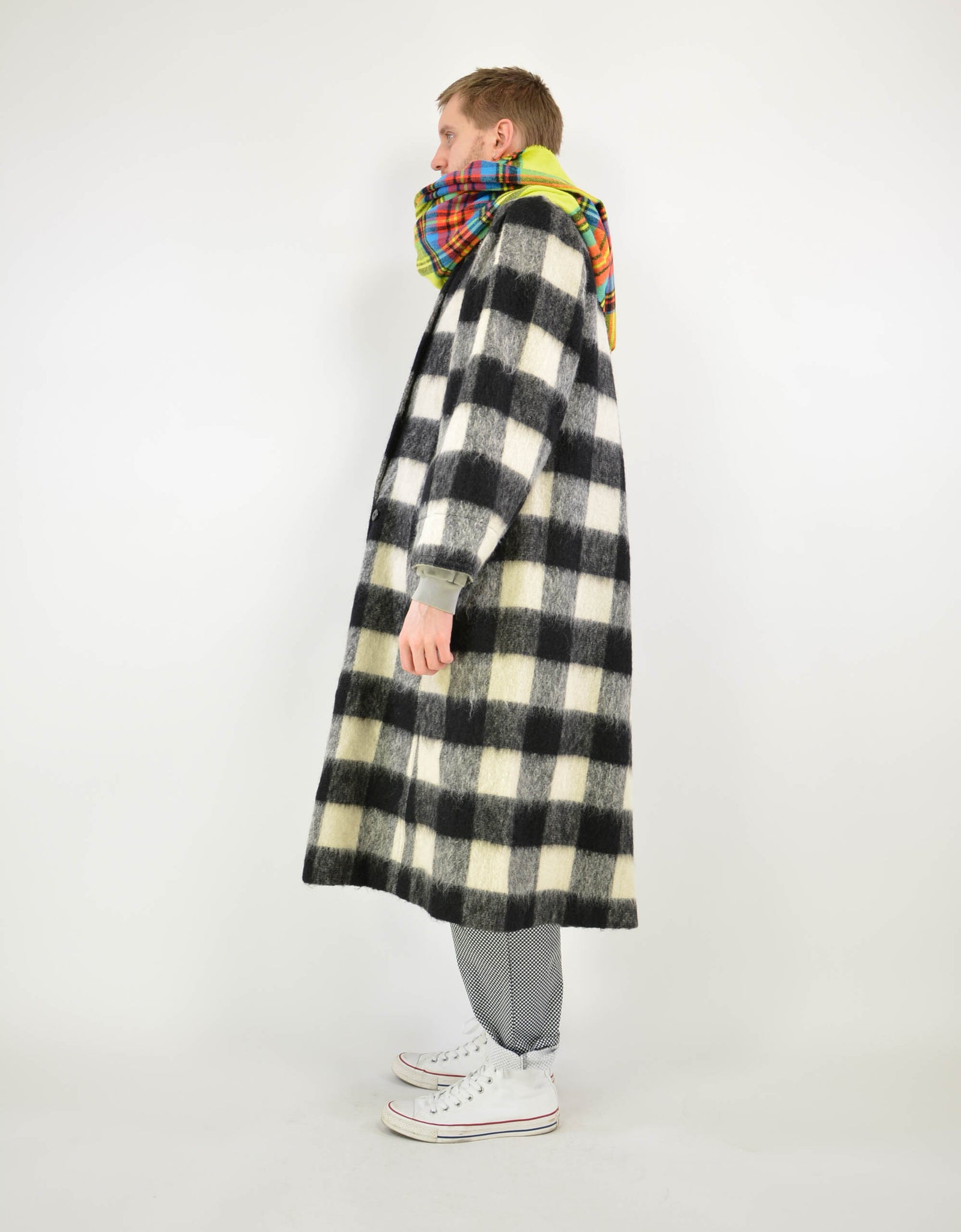 Special check coat - PICKNWEIGHT - VINTAGE KILO STORE