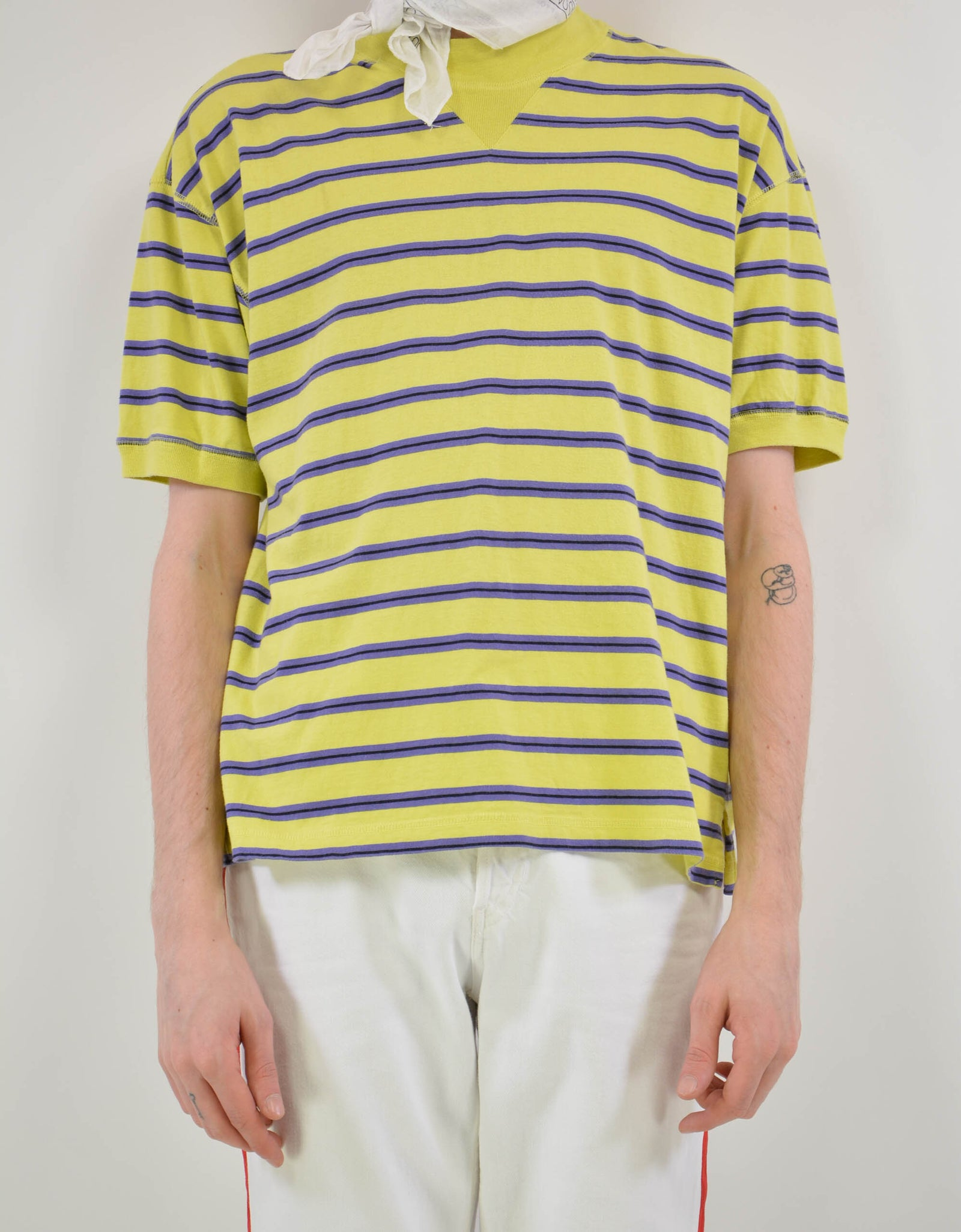 Striped tee - PICKNWEIGHT - VINTAGE KILO STORE