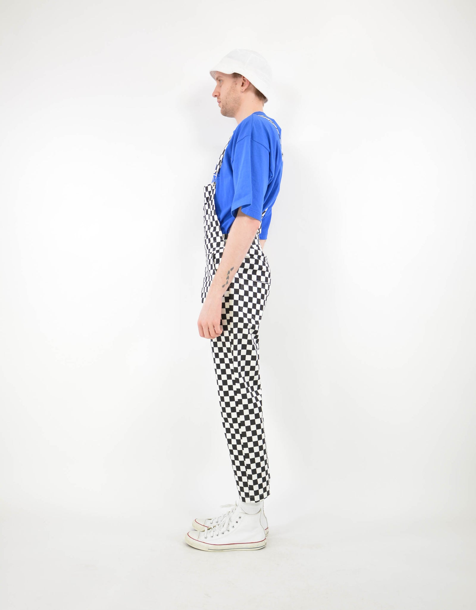 Checked dungaree - PICKNWEIGHT - VINTAGE KILO STORE