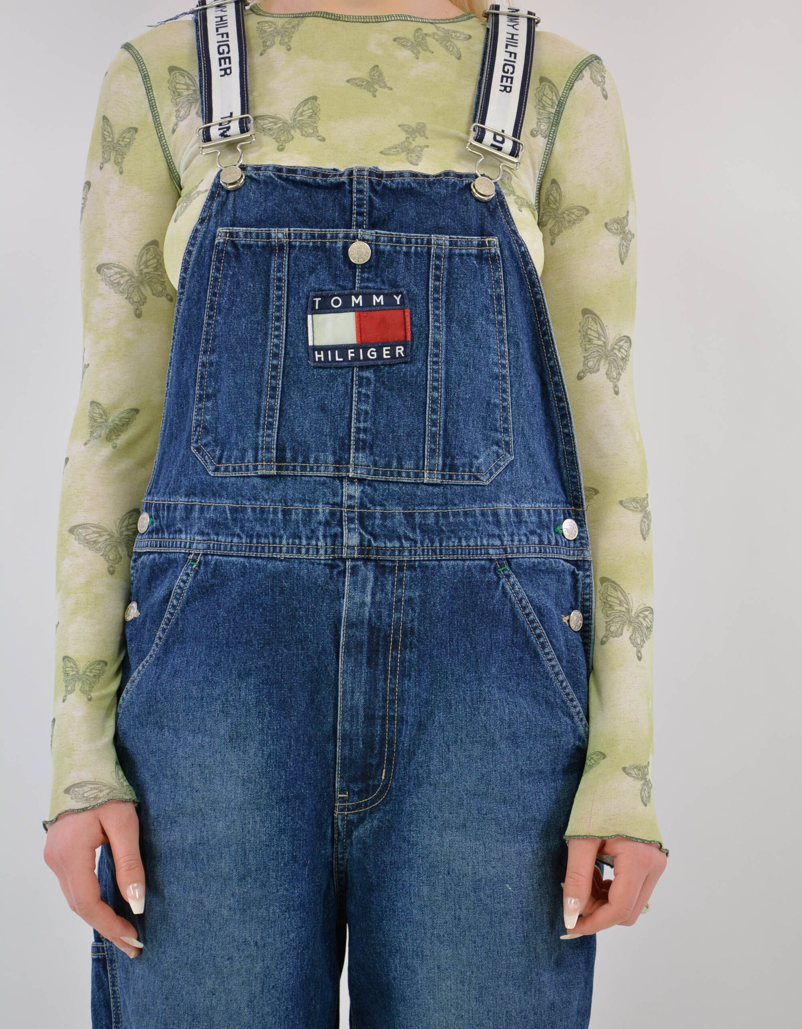 Tommy dungaree - PICKNWEIGHT - VINTAGE KILO STORE