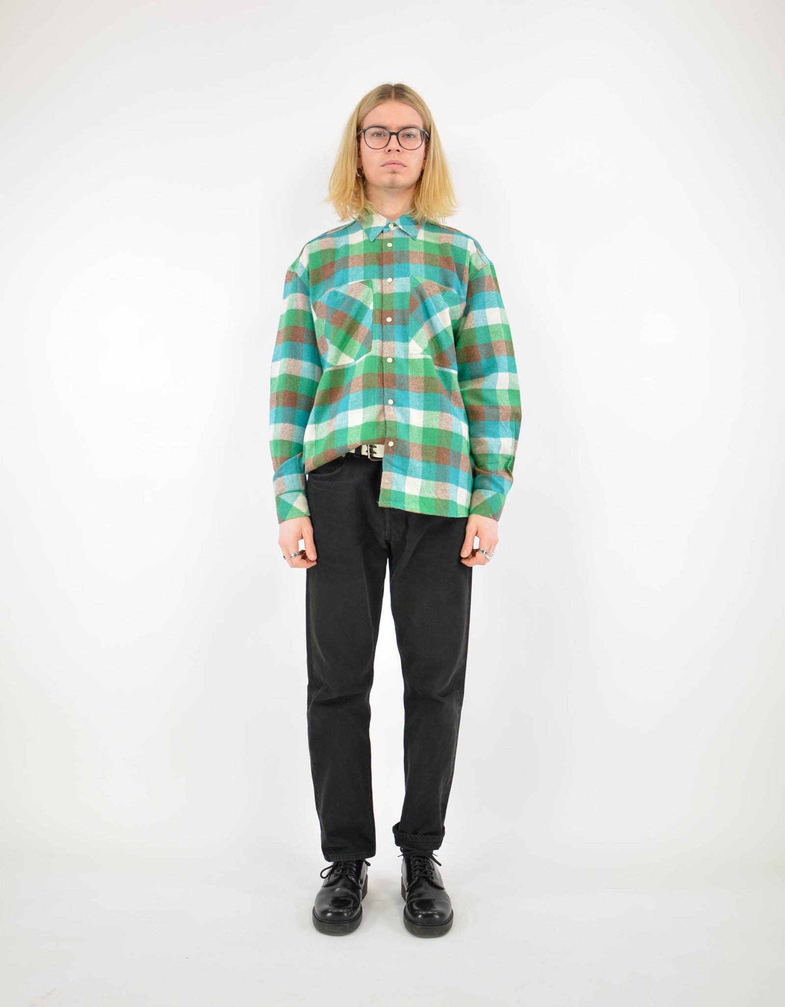 Flannel shirt - PICKNWEIGHT - VINTAGE KILO STORE