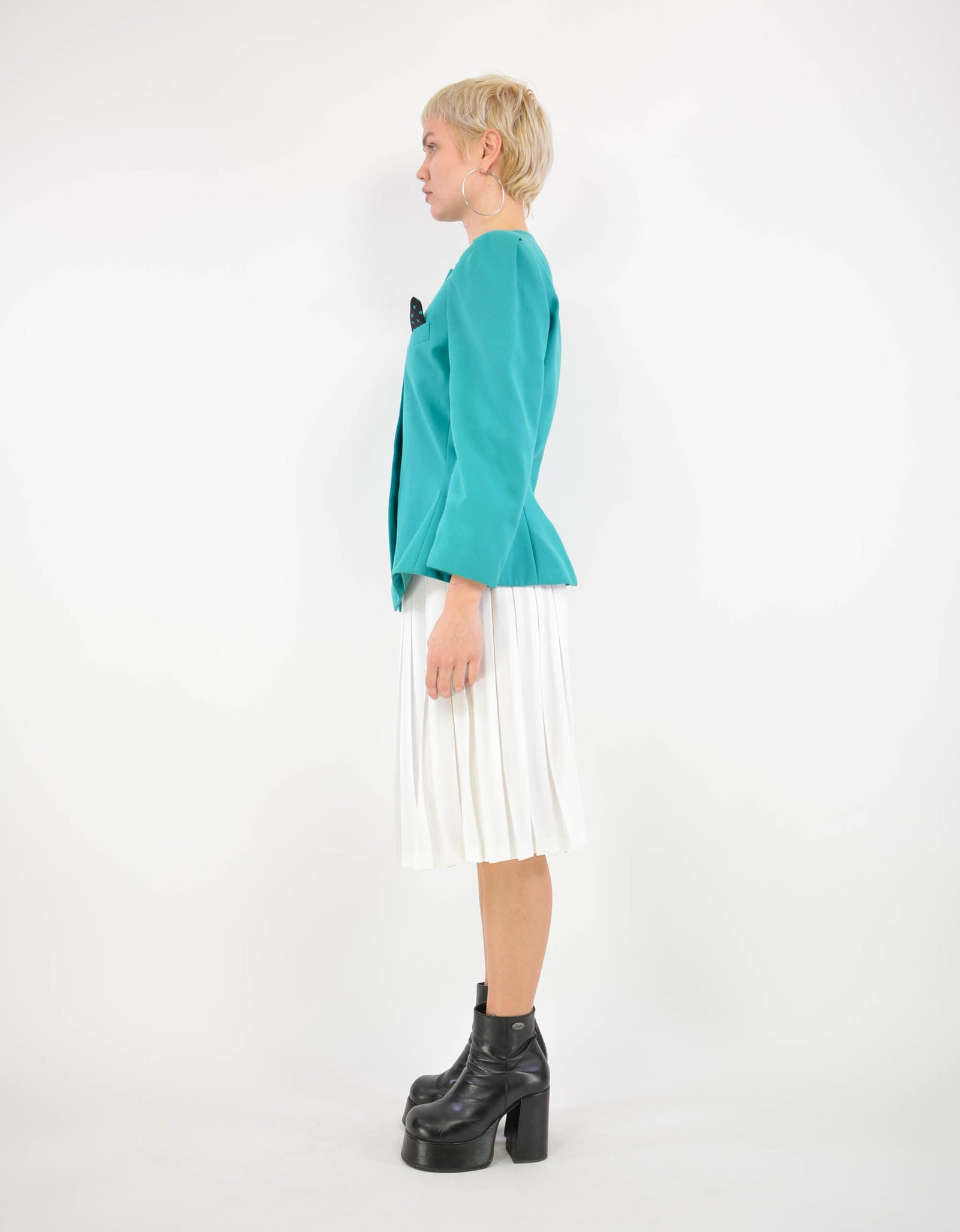 Pleat skirt - PICKNWEIGHT - VINTAGE KILO STORE