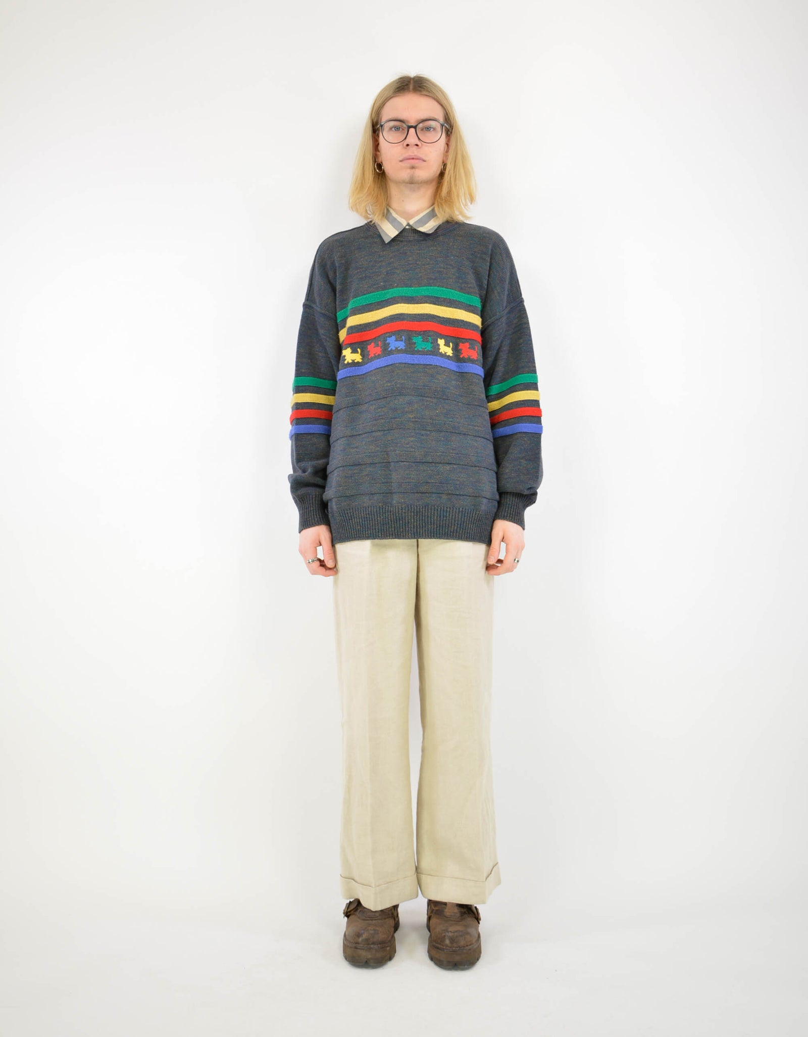 Colucci knitwear sweater - PICKNWEIGHT - VINTAGE KILO STORE