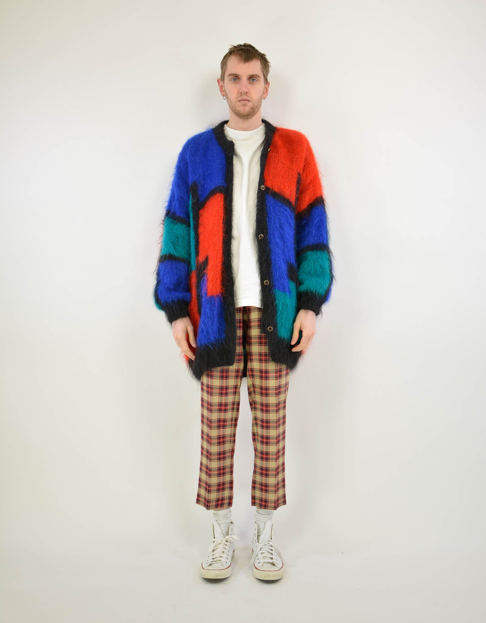 80s special cardigan - PICKNWEIGHT - VINTAGE KILO STORE