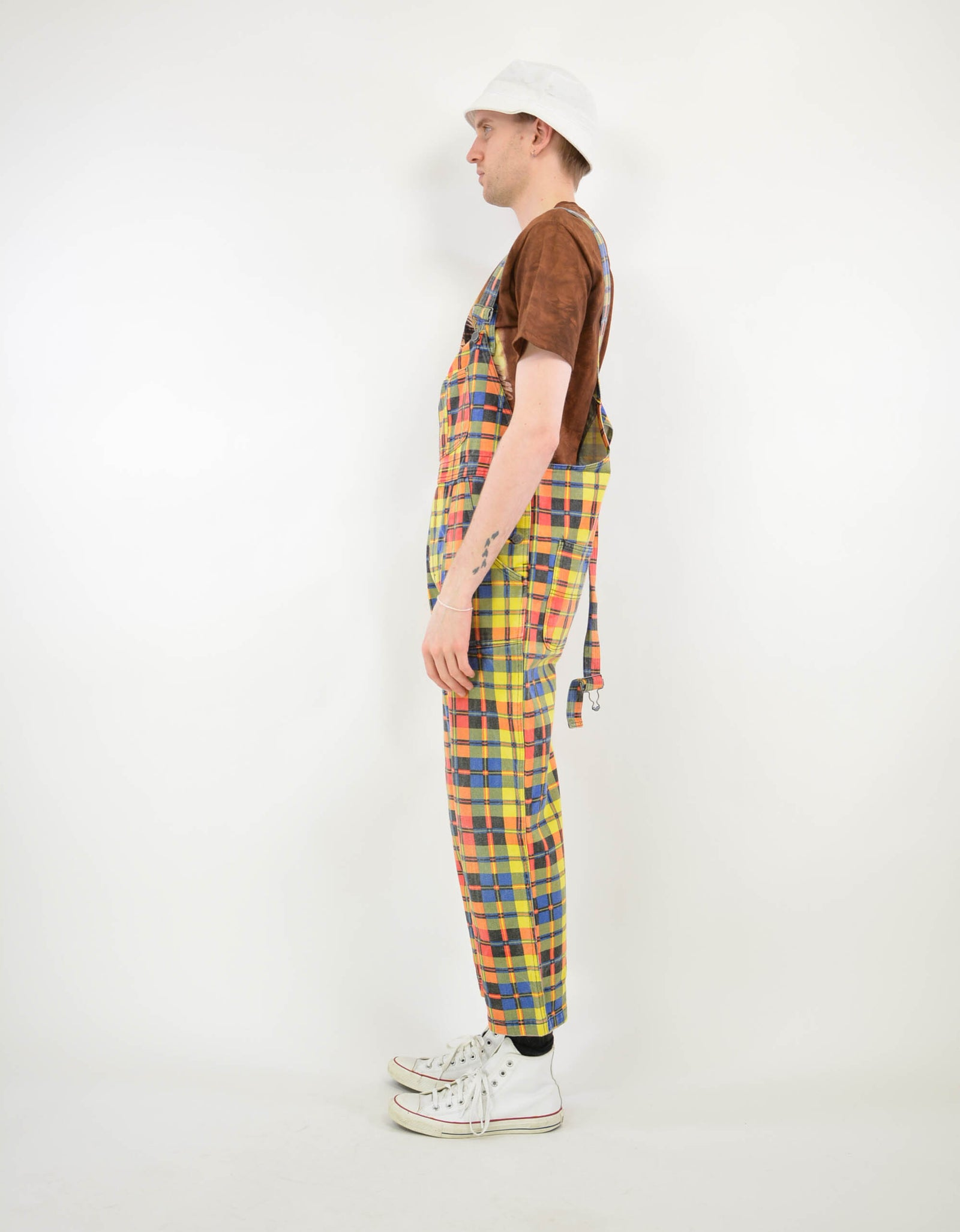 80s print dungarees - PICKNWEIGHT - VINTAGE KILO STORE