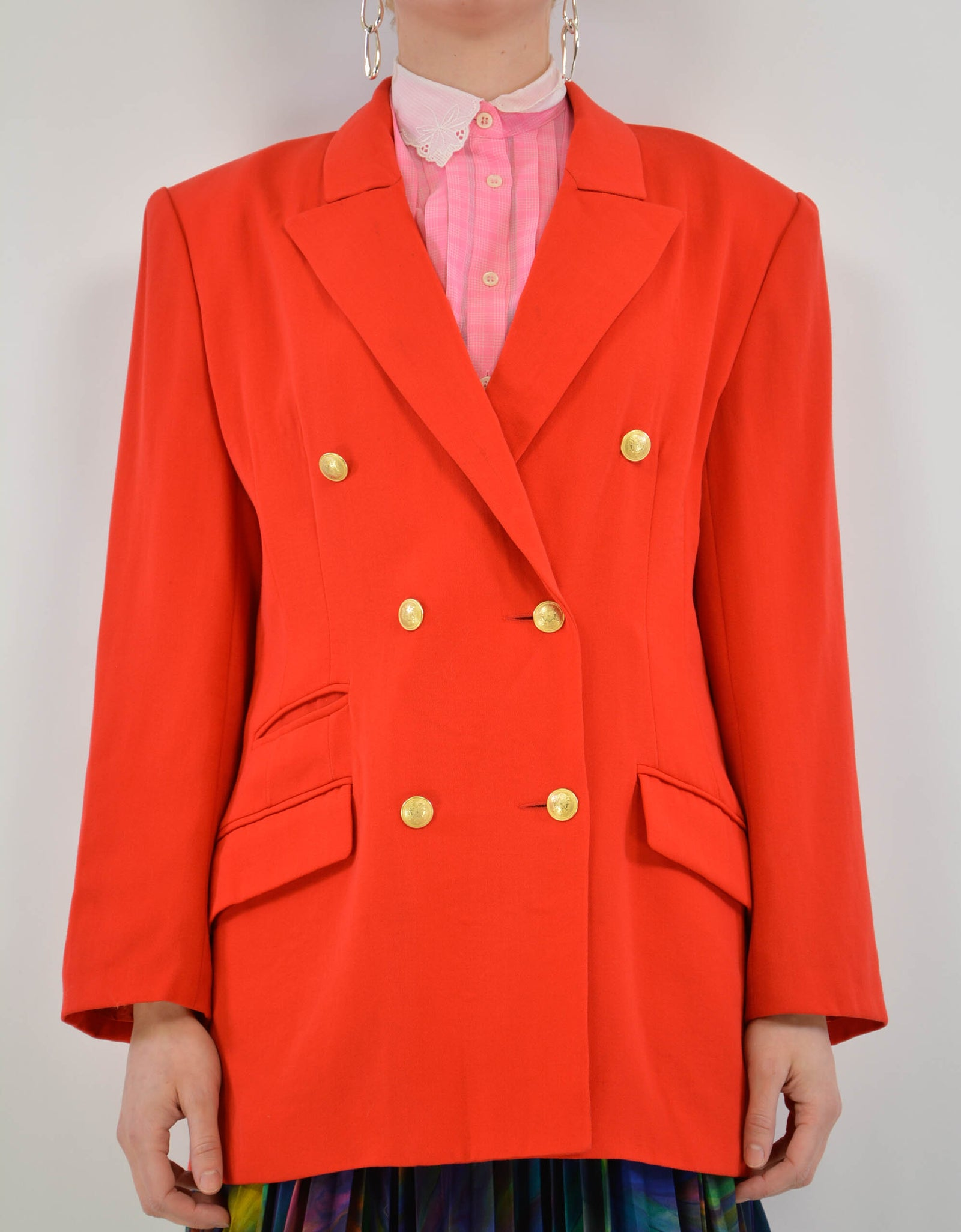 Red suit jacket - PICKNWEIGHT - VINTAGE KILO STORE