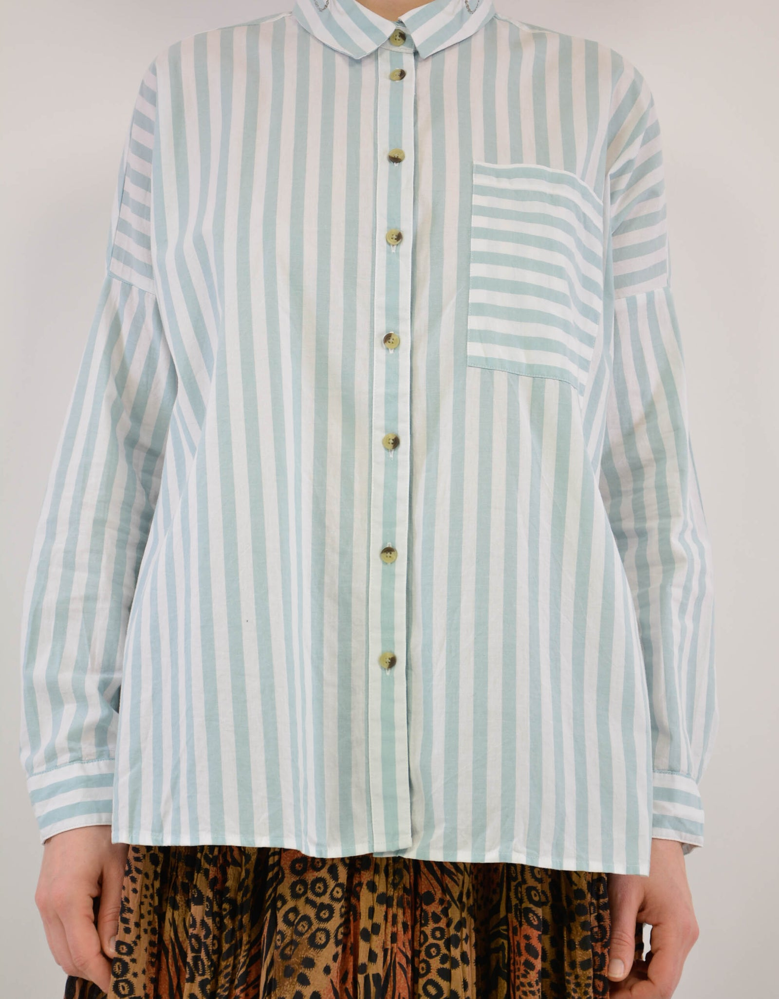 Striped blouse - PICKNWEIGHT - VINTAGE KILO STORE
