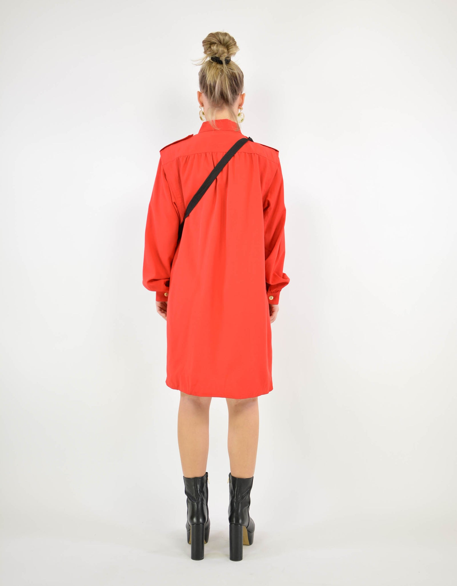Red coat - PICKNWEIGHT - VINTAGE KILO STORE