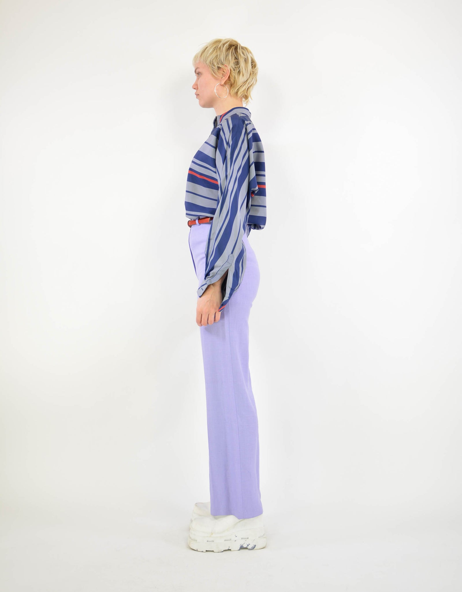 90s striped blouse - PICKNWEIGHT - VINTAGE KILO STORE