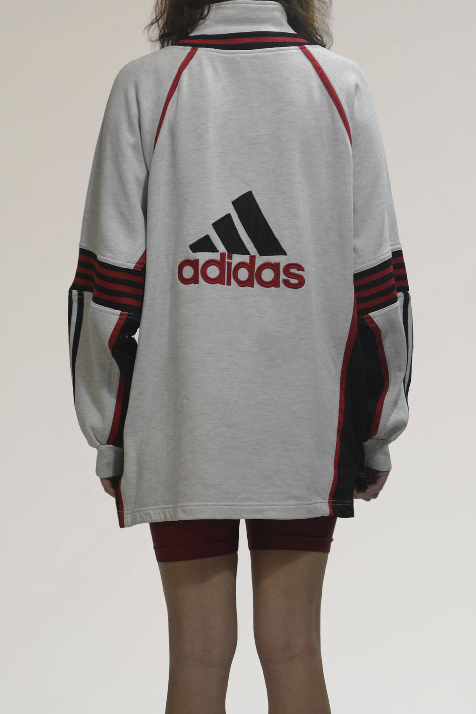 Zipped sport sweatshirt
