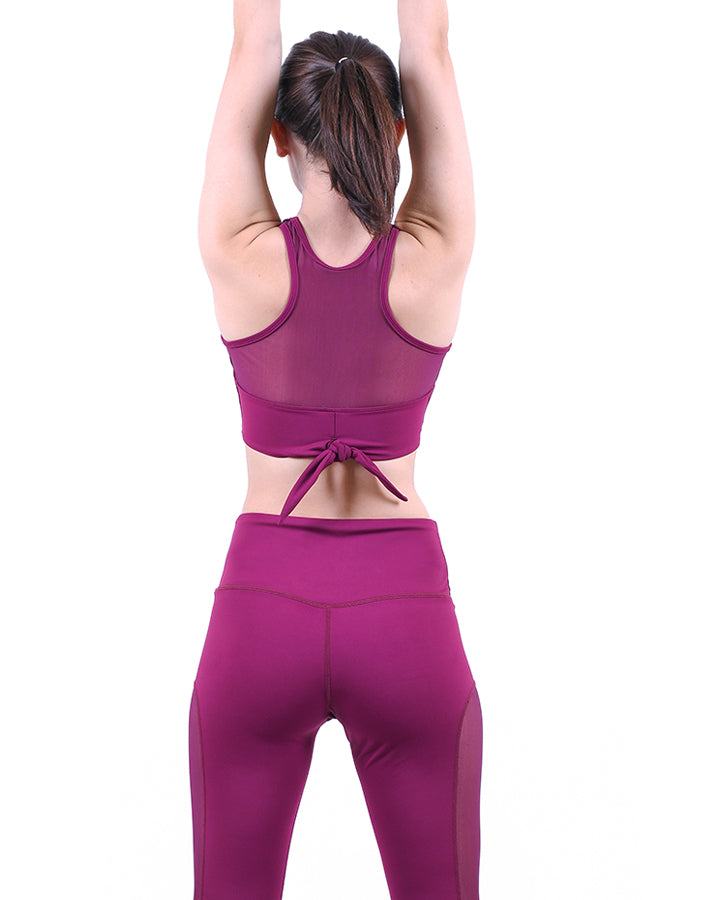 MOVE LEGGING AUBERGINE