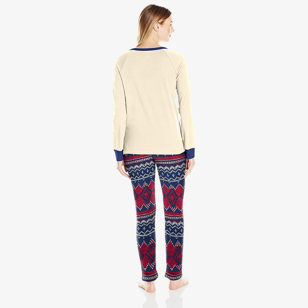 Jackie Henley and Joanna Sweater Fleece Sleep Set