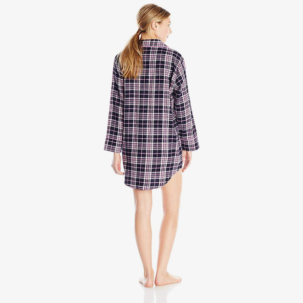 Xhina Flannel Sleep Shirt