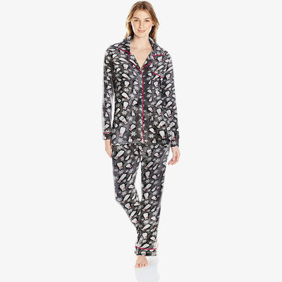 Jessica and Christina Micro Fleece Sleep Set