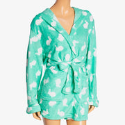 Colette Coral Fleece Robe