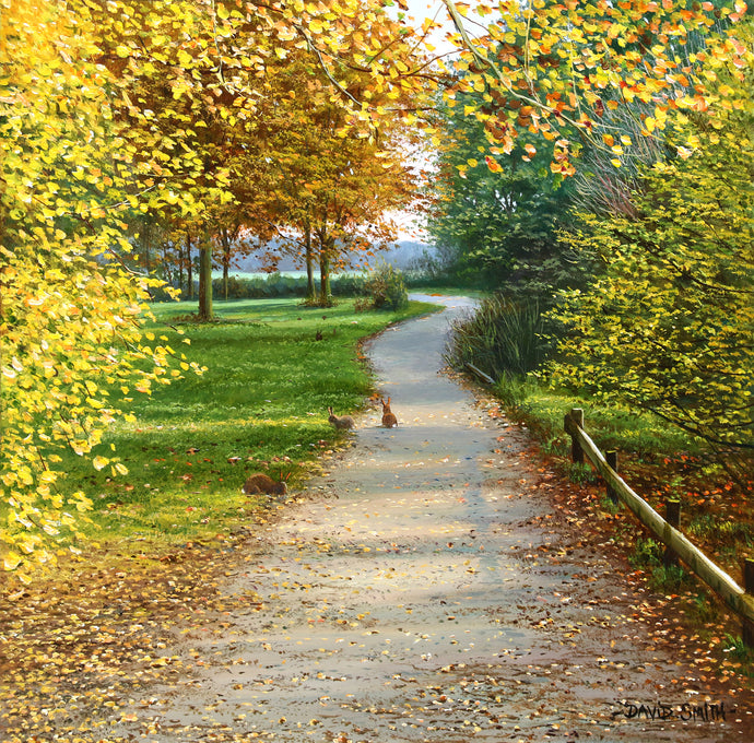 AUTUMN PATH - Open Edition Print