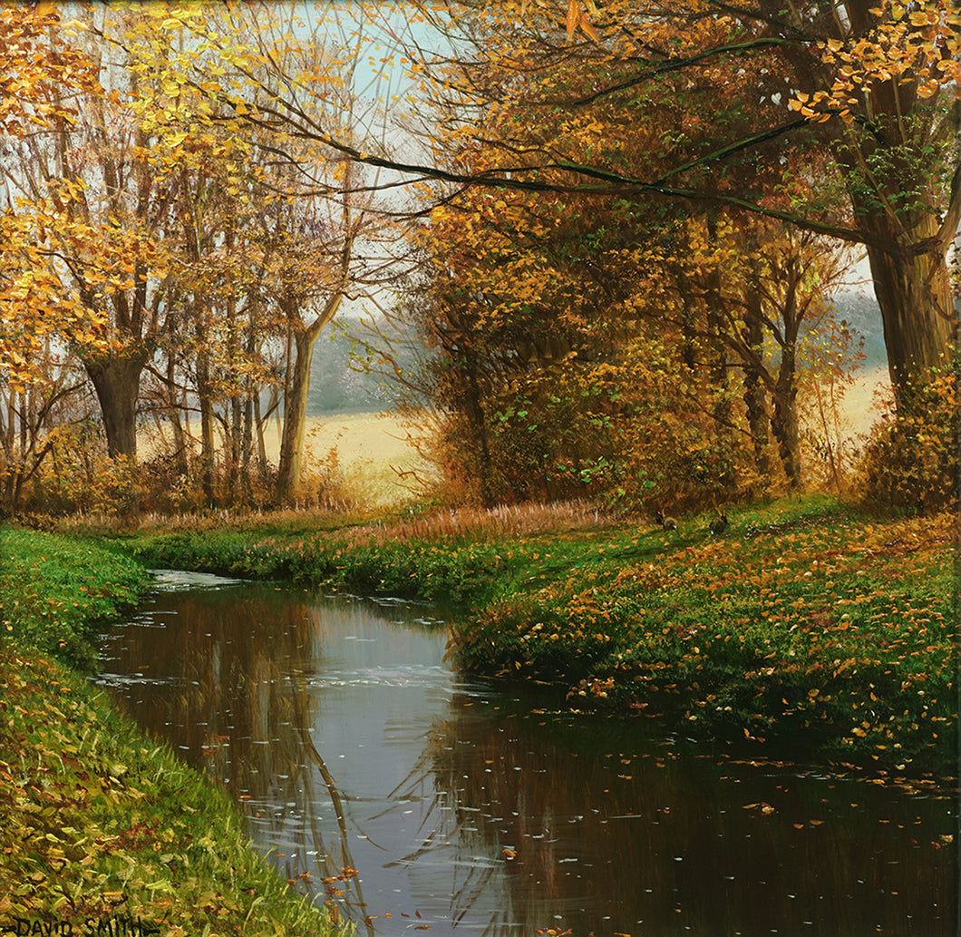 AUTUMN RIVER WALK - Open Edition Print