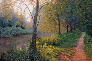 BESIDE THE RIVER - Limited Edition Print