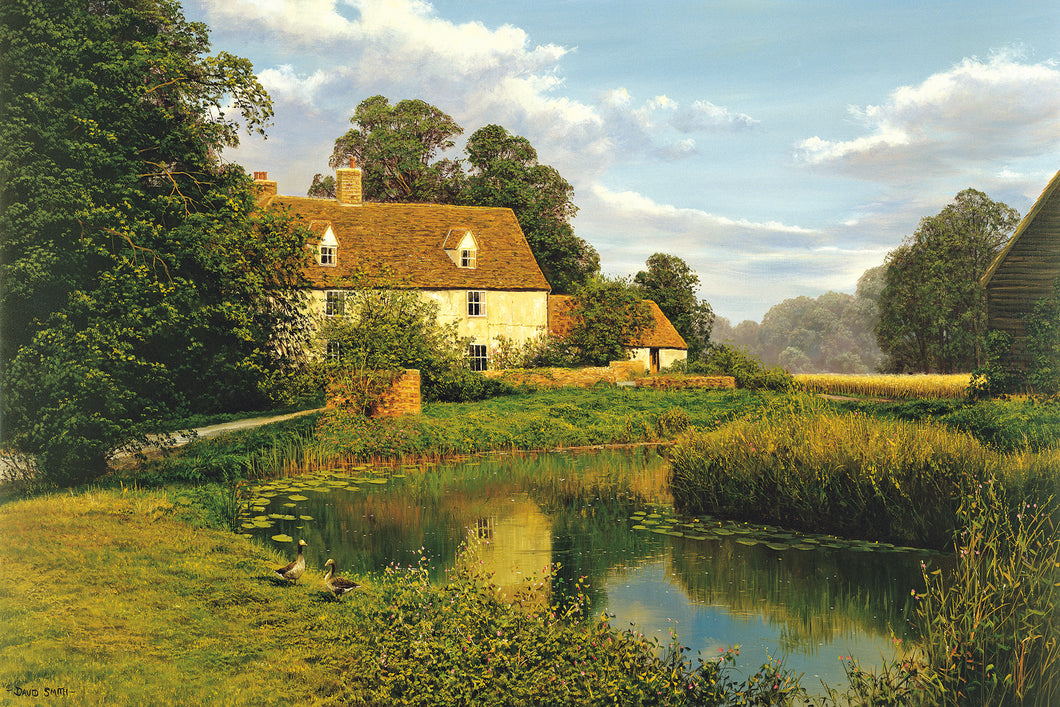 ESSEX COTTAGE - - Limited Edition Print