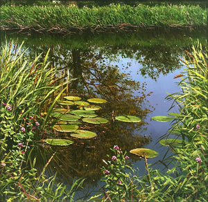 ANGLING SPOT - Original Oil Painting