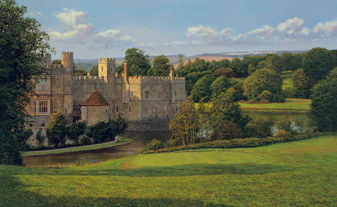 AFTERNOON AT LEEDS CASTLE - Limited Edition Print