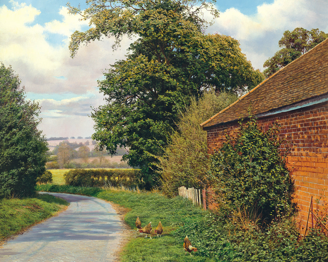 OLD BRICK BARN - Limited Edition Print