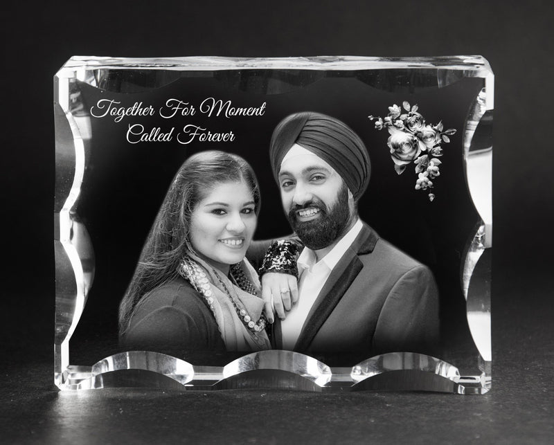 3D-Photo crystal gift UF1074