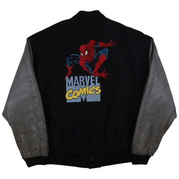 1990s Spider-Man Marvel Comics Varsity Jacket L