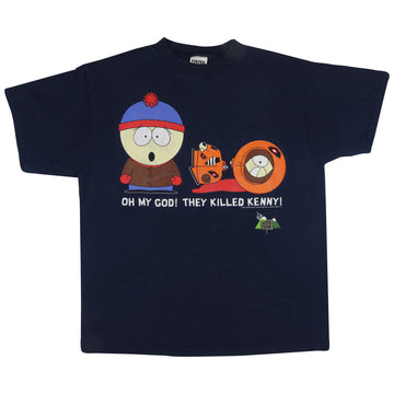 1997 South Park They Killed Kenny T-Shirt XL