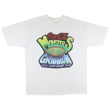 1993 Coca Cola Monsters Of The Gridiron T-Shirt XL
