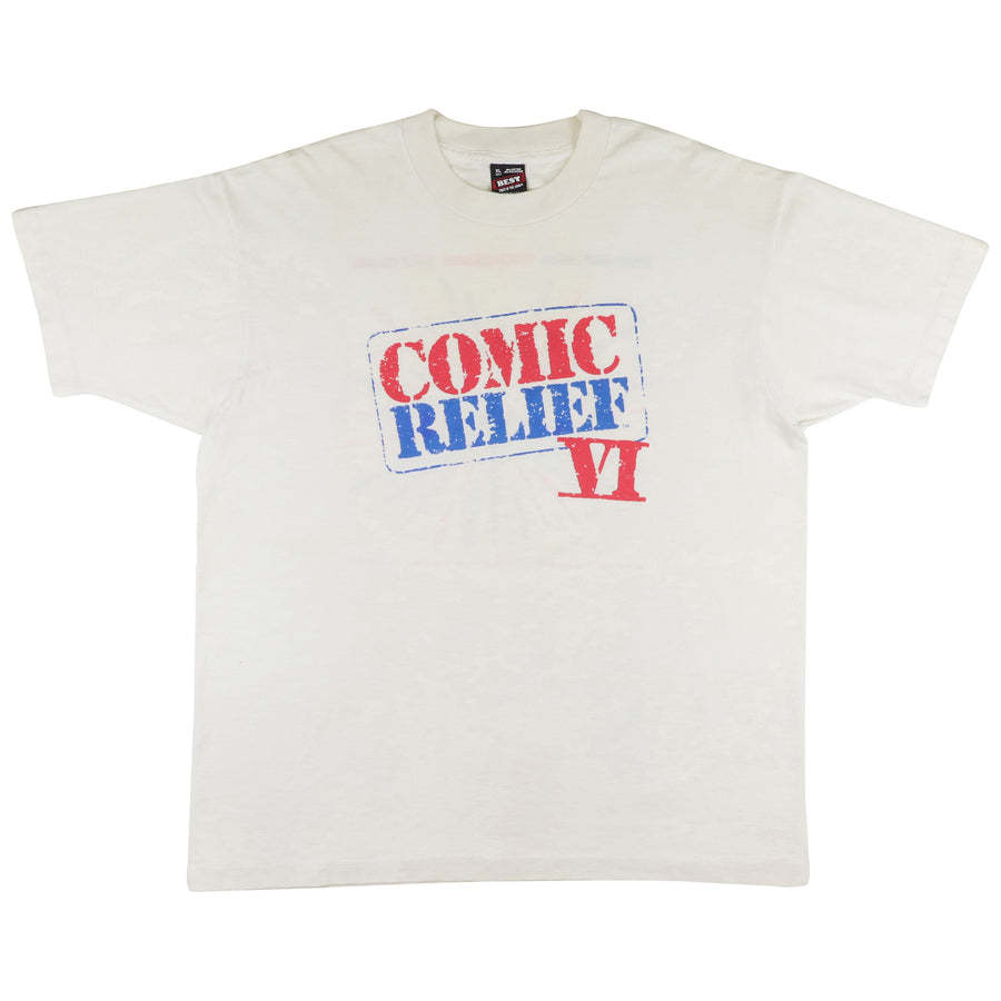 1990 Comic Relief IV Comedy Special T-Shirt XL