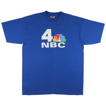1990s NBC Peacock TV Channel T-Shirt XL