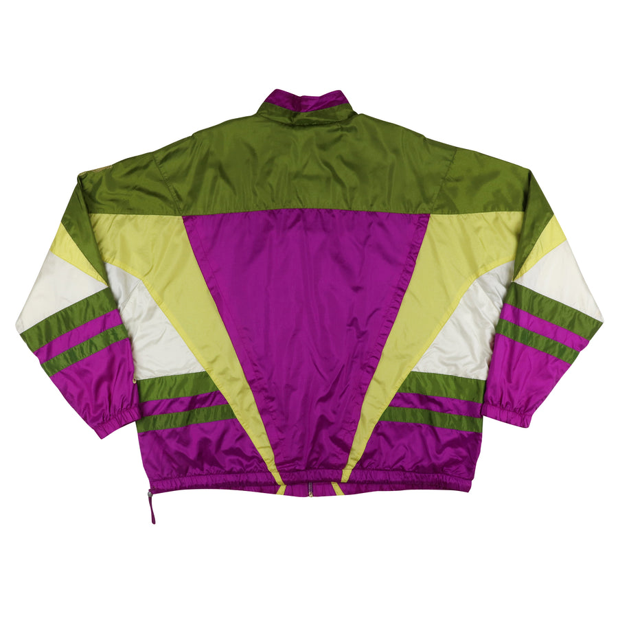 1992 Nike International Colour Block Track Jacket 2XL