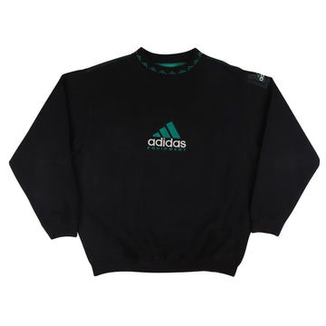 1990s Adidas Equipment Mountain Logo Sweatshirt L