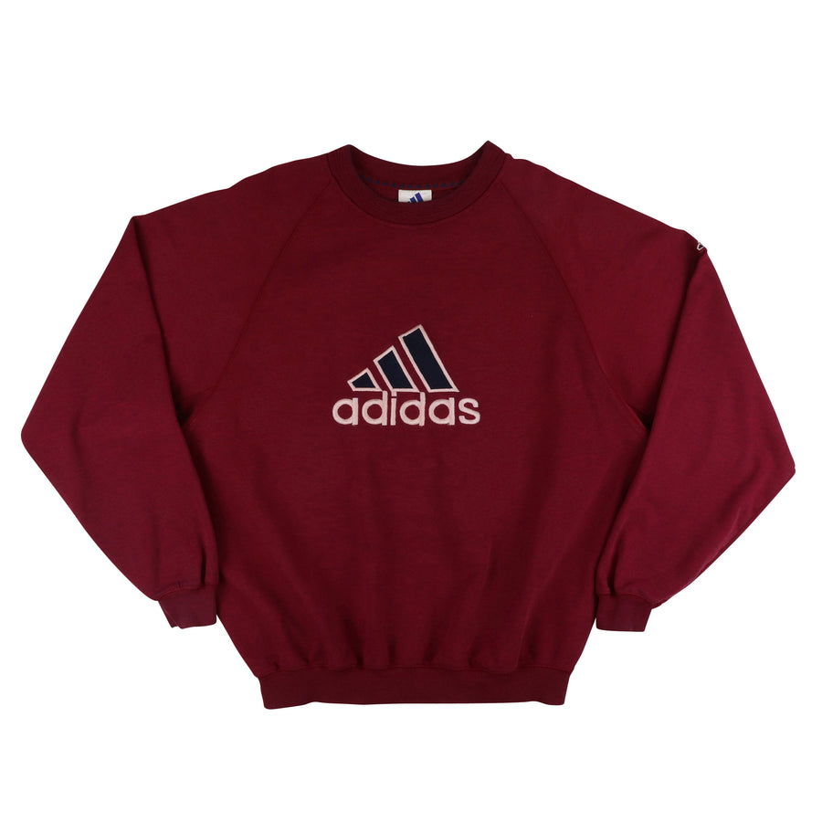 1990s Adidas Mountain Logo Sweatshirt M