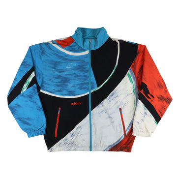 1980s Adidas Colour Block Track Jacket M