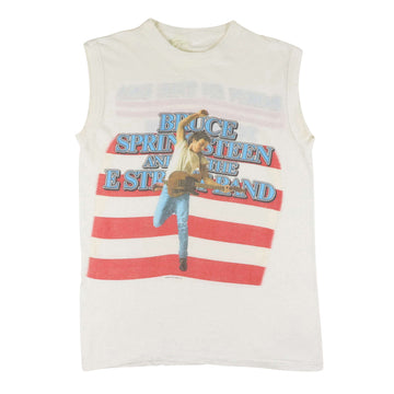 1984 Bruce Springsteen Born In The USA Tank Top XS