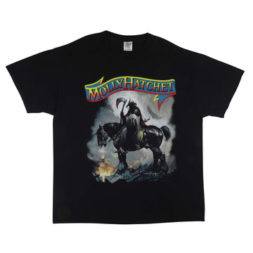 2001 Molly Hatchet Frank Frazetta Band T-Shirt XL