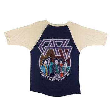 1980 The Cars Candy-O World Tour Raglan T-Shirt S