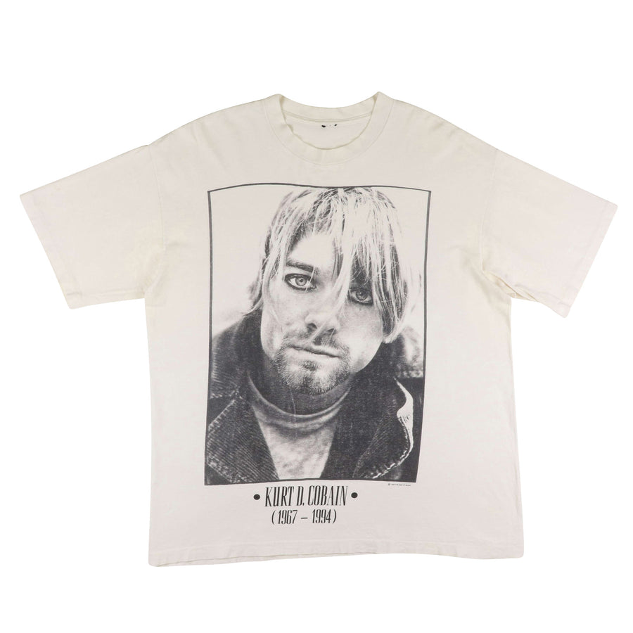 1994 Kurt Cobain Nirvana Memorial T-Shirt XL
