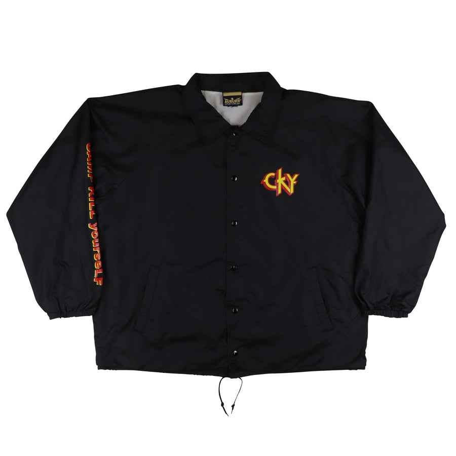 2002 CKY Camp Kill Yourself Infiltrate Destroy Rebuild Jacket 2XL