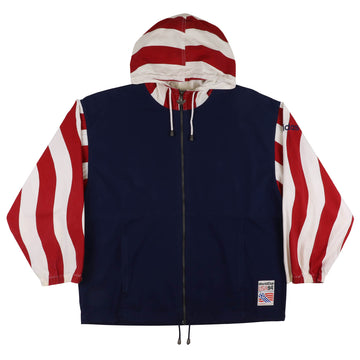 1994 Adidas World Cup Team USA Hooded Jacket M