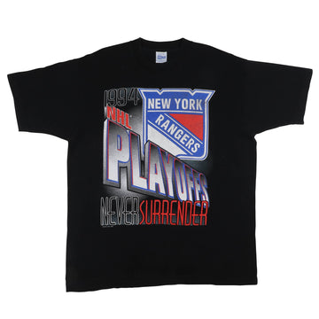 1994 New York Rangers Never Surrender T-Shirt L