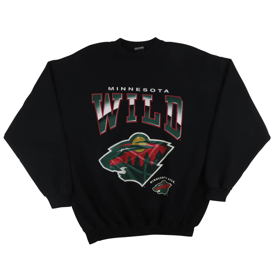 2000s Minnesota Wild First Season Logo Sweatshirt XL